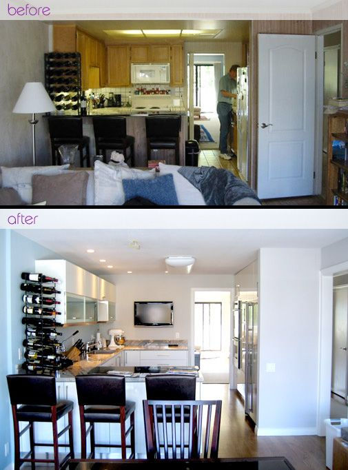 Kitchen Remodels Before and After | Kitchen Remodels by La Dimora Design