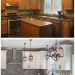Kitchen remodel ideas with before and after picture - pickndecor.com/furniture