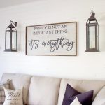 Linen Couch Farmhouse Living Room Designs