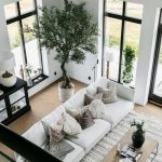 Living room decor plants interior design 34 - #Decor #design #Interior #living #...