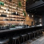 MESA Restaurant in Antwerp by Dieter Vander Velpen Architects. (Photo by Patrici...