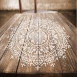 Mandala Stencil Prosperity - Mandala Stencils for Furniture, Walls, or Floors - Mandalas for DIY Home Decor - Stencils Better than Decals