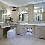 Master Bathroom Vanity. Because I can't sit on the bathroom counter to do my mak...