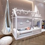 Montessori toddler beds Frame bed House bed house Wood house Kids teepee Baby bed Nursery bed Platform bed Children furniture FULL/ DOUBLE