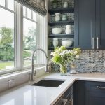 Most popular ways to elegant new and old looking modern kitchen renovation style...