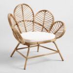 Natural All Weather Wicker Wailea Outdoor Chairs, Set of 2