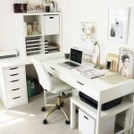 Nested Home Office Organization for Your Nest  #allhunguphanger, #hanger, #close...