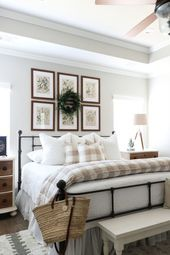 Neutral Christmas Bedroom Tour with Mohawk Home – TxSizedHome,  #Bedroom #Christmas #Home #Mo…
