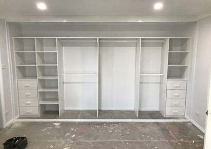 New Fitted Bedroom Furniture Built In Wardrobe Storage Ideas #bedroom #furniture…