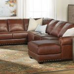 O'Neal Top-Grain Leather Sectional with Chaise