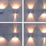 Online Shop CREE Outdoor Wall Light, LED Up Down Wall Sconces Adjustable Wall Lamp Garden Light IP65 6W Outdoor Lighting 2pcs per lot | Aliexpress Mobile