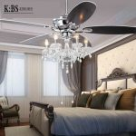 Online Shop Crystal lamp fan living room ceiling fan light restaurant with European antique retro LED crystal Ceiling Fans Free shipping | Aliexpress Mobile