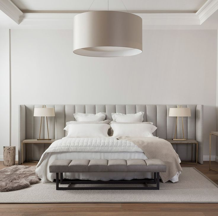 Our PROVENCE BED is the crème de la crème in relaxed luxury beds. Its neutral
