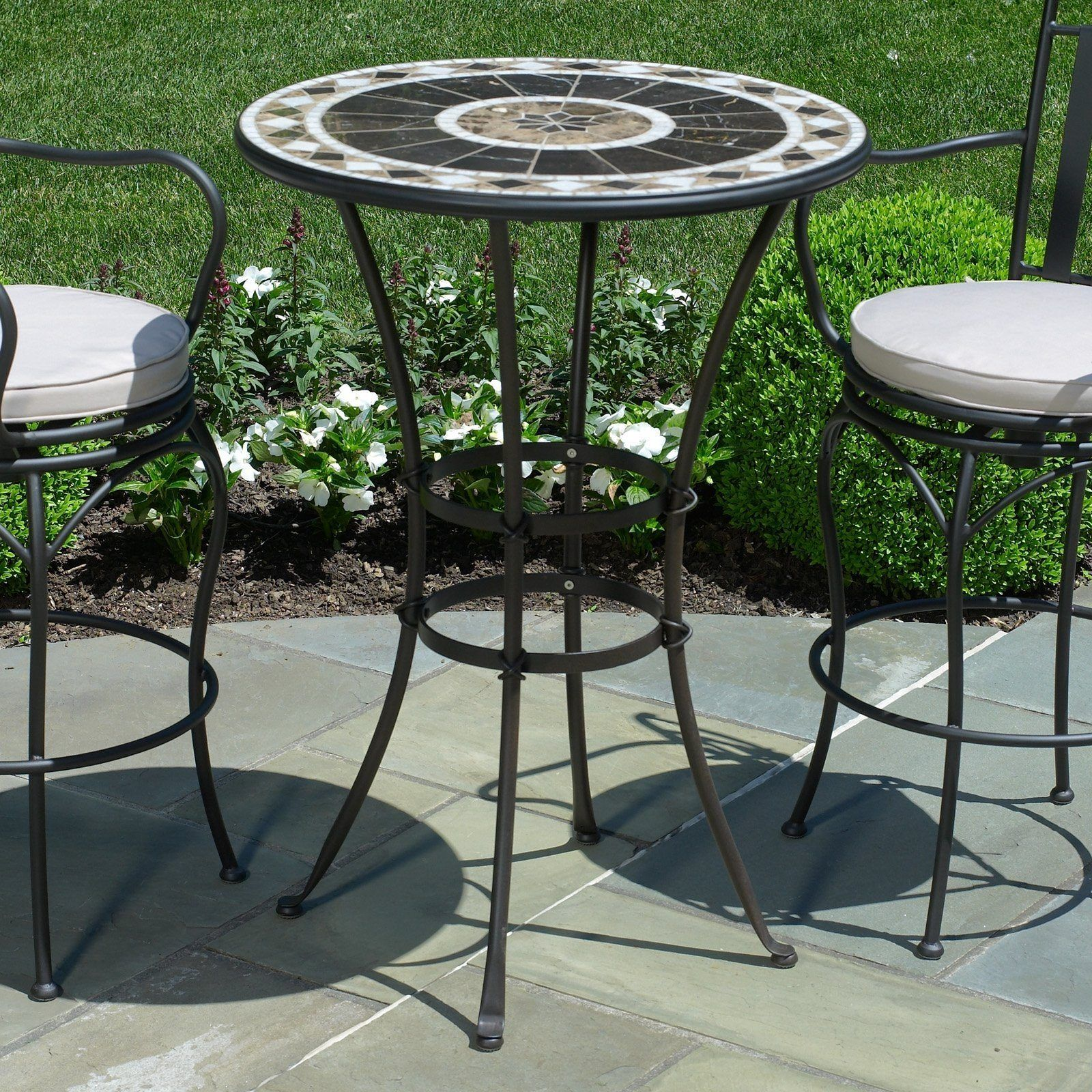 Outdoor Bar Stools And Table   Stuhlede.com