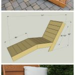 Outdoor Chaise Lounge How-To - 14 Awesome DIY Backyard Ideas to Finalize Your Ou...
