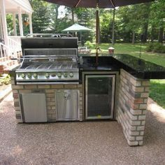Outdoor Grill Kitchen, Grill Cabinet, Grill Table and other Outdoor Patio Furniture