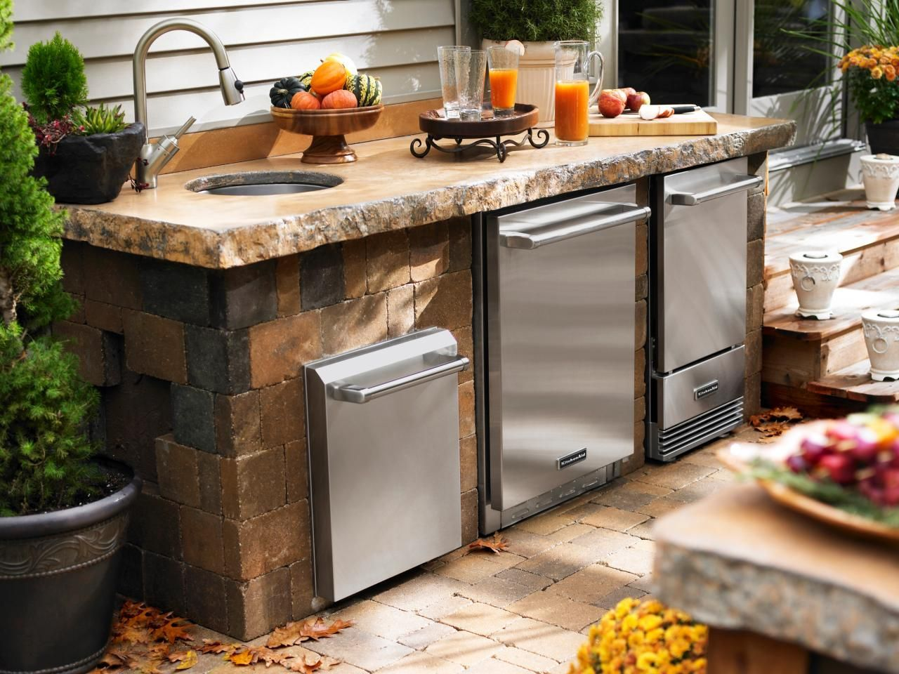 Outdoor Kitchen Ideas on a Budget: Pictures, Tips & Ideas – pickndecor.com/furniture