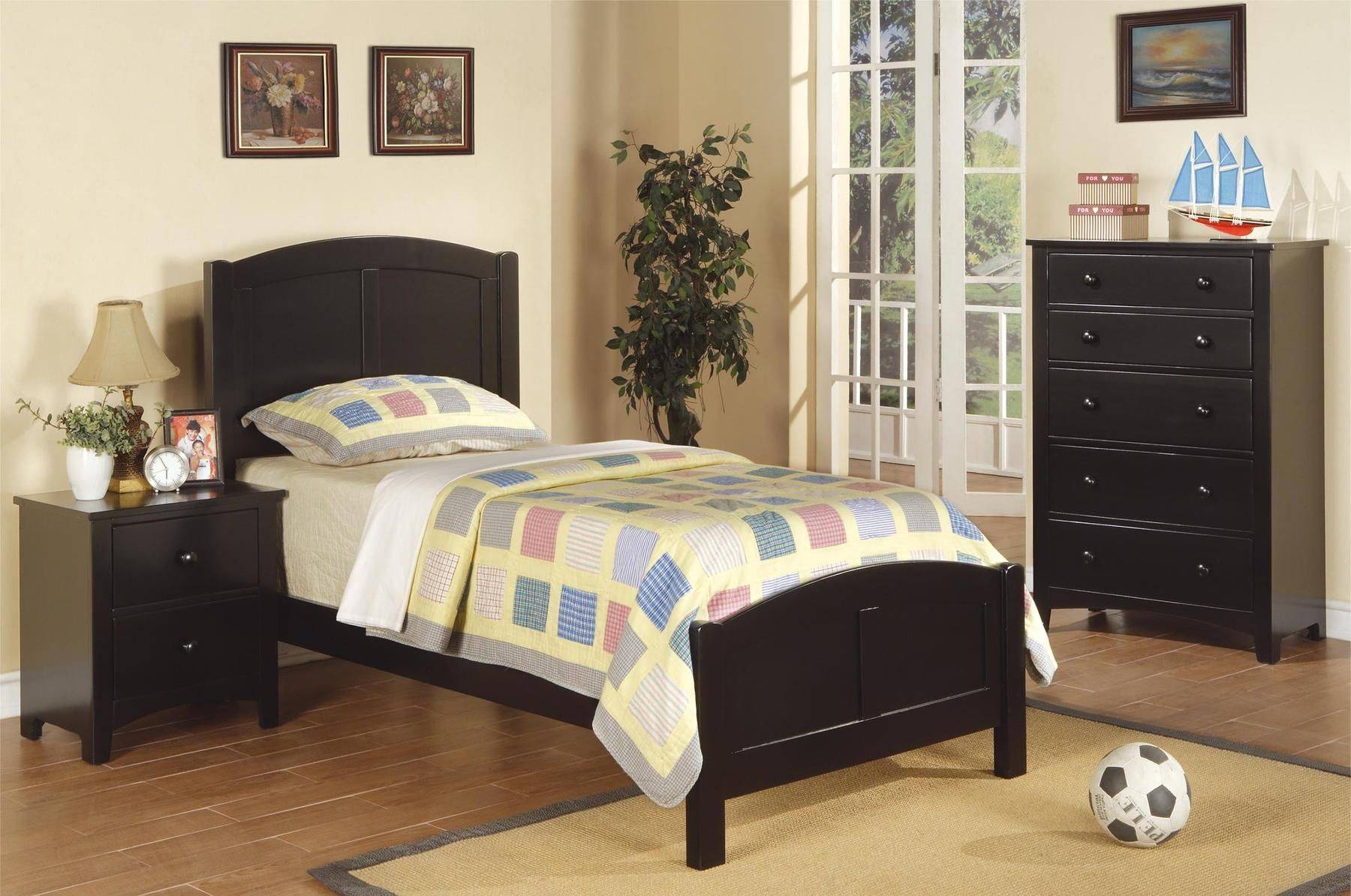 P9208 Twin Size Bed