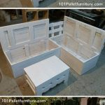 Pallet Sectional Sofa with Storage