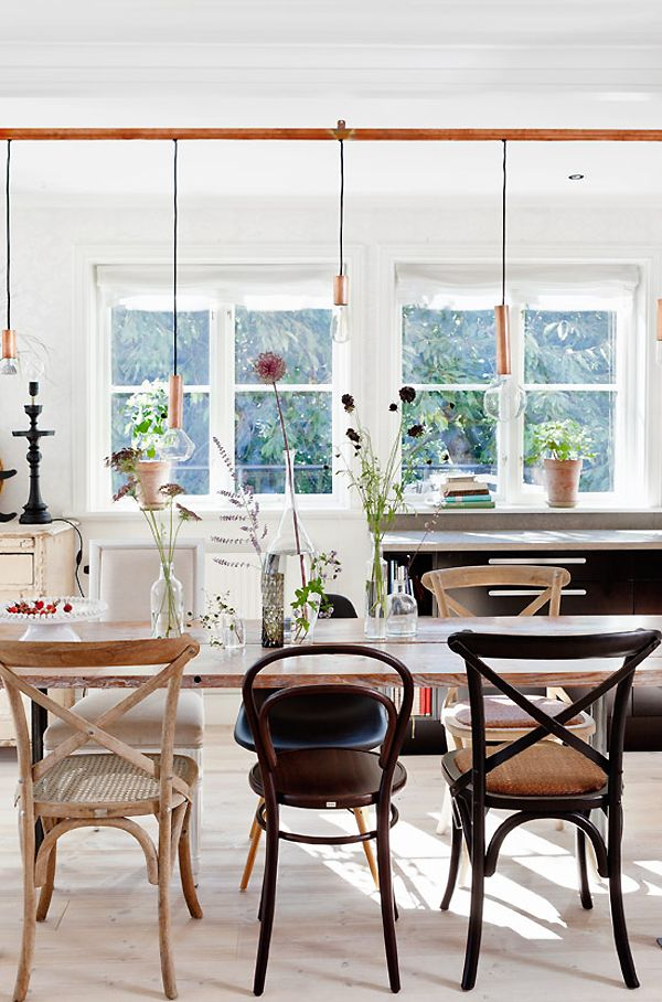 Picture Perfect Proof That You Should Mix and Match Your Dining Chairs   Hunker