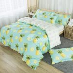Pineapples Pattern Fresh Style Cotton 4-Piece Bedding Sets/Duvet Cover