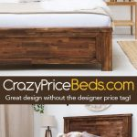 Plumley Caramel Finish Bed Frame. Made from solid acacia wood for a hardwearing,...