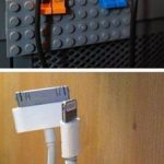 Product Hacks : Lego men to hold your cables - Design Intuition