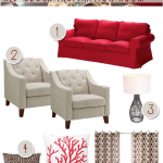 Reader Room Inspiration: How Do I Decorate with a Red Couch?