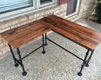 Reclaimed Wood Desk Table , Computer Desk, Office Desk – Full customization available, ask about add-ons!
