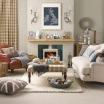 Relaxed country living room | Living room designs | Fabrics | Ideal Home