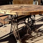 Remodel old furniture - the old sewing machine as vintage furniture - Today Pin