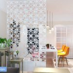 Room divider screen / Room decor / Curtain room partition - 12 pieces.