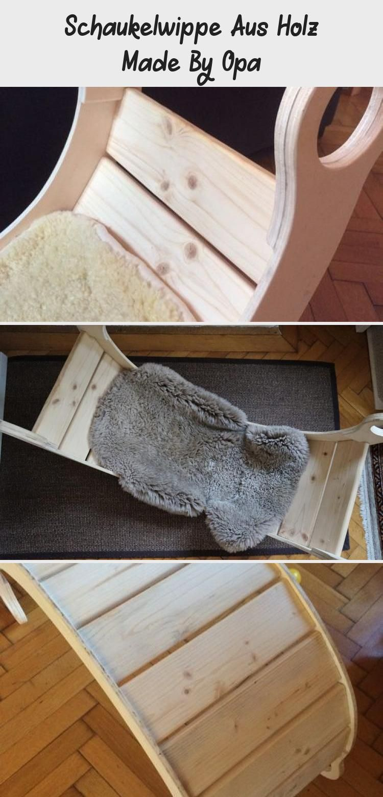 Schaukelwippe Aus Holz Made By Opa