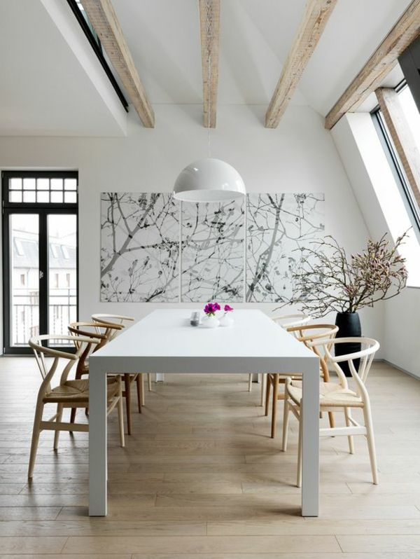 Set up a fascinating dining room – 66 ideas! | Lifestyle Trends & Tips
