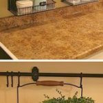 Small kitchen idea for countertops. - A ton of clever hack,  #clever #Countertops #diybathroo...