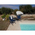 Sol 72 Outdoor Amiens Reclining Camping Chair and Table Set | Wayfair.co.uk