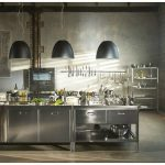 Stainless steel kitchen By ALPES-INOX