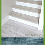 Stairs With Carpet Herringbone Treads And Painted White Risers Looks | treppe mi...