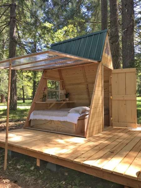 Star A Frame Tiny Cabin, Cedar Bloom, OR: 31 Hipcamper Reviews And 64 Photos