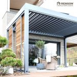 Thanks to the loggia wood sliding panels this patio cover fits the wooden house ... - Today Pin