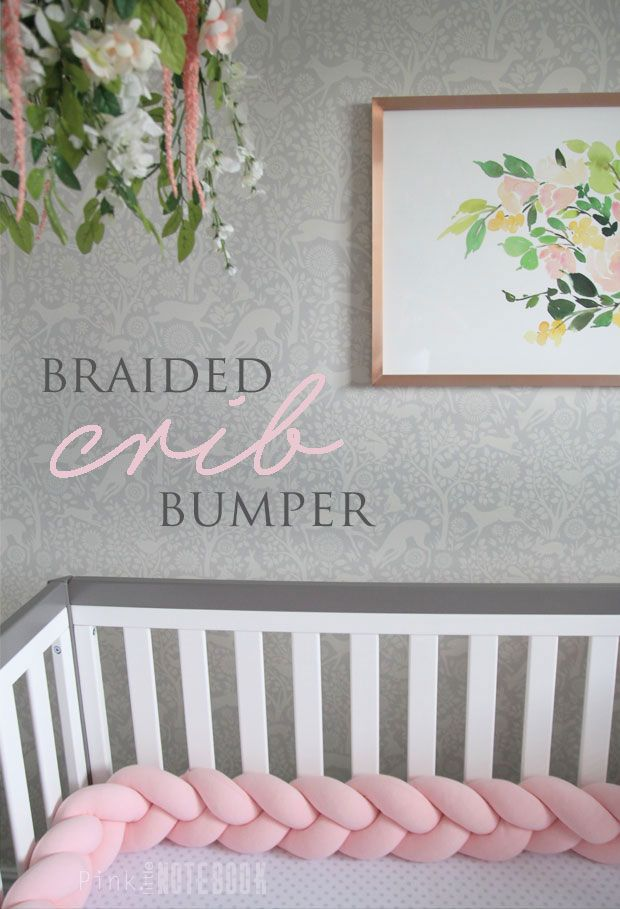 The Perfect Braided Crib Bumper from Juju & Jake – Pink Little Notebook
