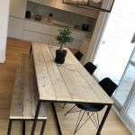 The beautiful tables of our customers. Wooden tables with ... - #beautiful #cust...