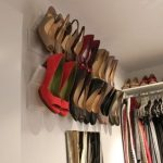 This is brilliant!!! Hang Shoes on the Wall Using Crown Molding   52 Totally Fea...