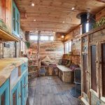 This old horse trailer was converted into a cozy and rustic little house - Wood ...