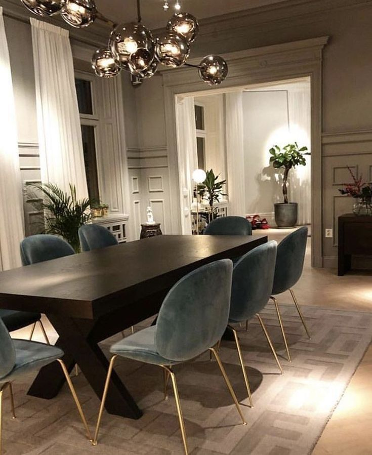 Today we are going to show you some of the most dazzling blue dining room design… – pickndecor.com/furniture