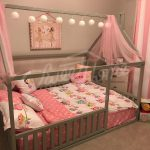 Toddler furniture teepee kids home bed, FULL/ DOUBLE size with SLATS
