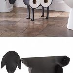 Toilet paper holder for sheep - freestanding storage of toilet paper ...