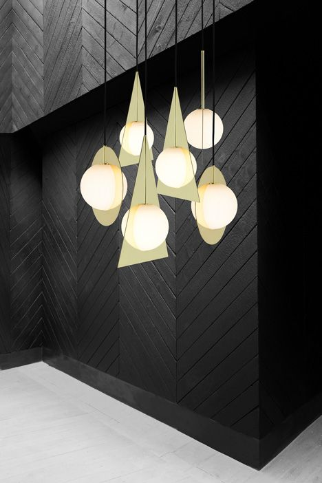 """Tom Dixon launches """"minimal and geometric"""" Plane light collection"""