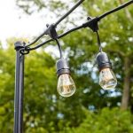 Try Out This Permanent Solution for Your Patio String Lights