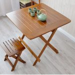 US $169.0 |Aliexpress.com : Buy Bamboo Furniture Dining Table Square 80cm Outdoor/Indoor Garden Table Legs Foldable Portable Folding Dining Table Bamboo Wood from Reliable wood gloss suppliers on DAMEDAI Fascinating Store